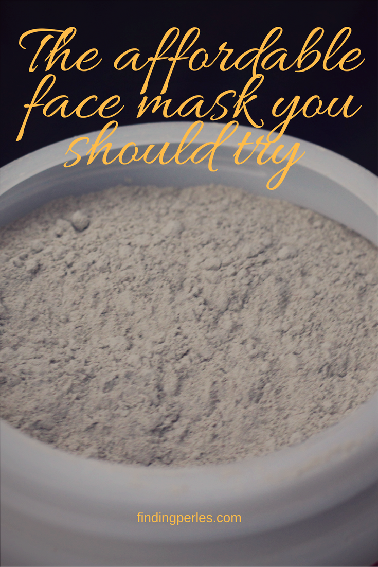 the affordable face mask u should try by findingperles.com